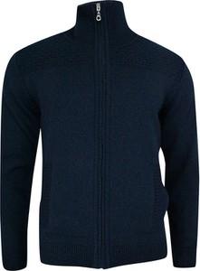 Granatowy sweter Lasota w stylu casual