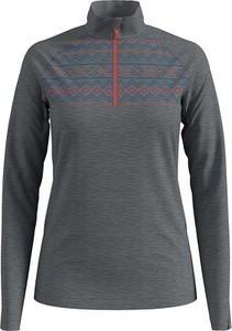 T-shirt ODLO z golfem w stylu casual