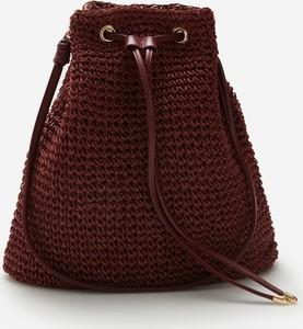 Czerwona torebka Reserved średnia