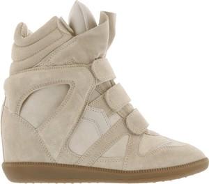 Buty sportowe Isabel Marant sznurowane