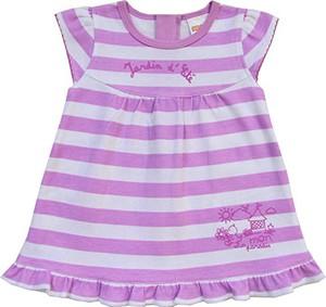 Fioletowa sukienka dziewczęca schnizler
