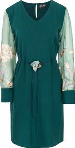 Zielona sukienka ELEONORA PORTERA