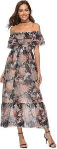 Sukienka Nisha z odkrytymi ramionami