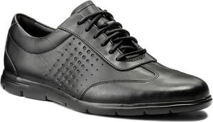Czarne buty sportowe clarks w stylu casual