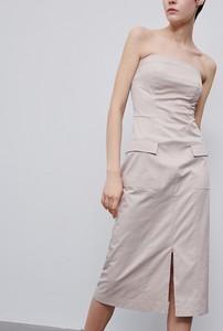 Sukienka Reserved bez rękawów midi