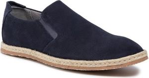 Granatowe buty letnie męskie Strellson