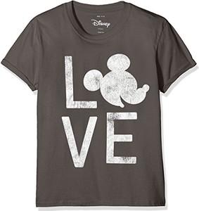 Czarna koszulka dziecięca Disney z krótkim rękawem