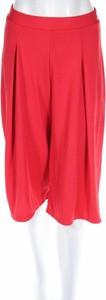 Czerwone spodnie Woman Collection w stylu retro