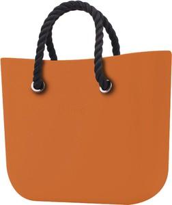 Pomarańczowa torebka O Bag duża w wakacyjnym stylu