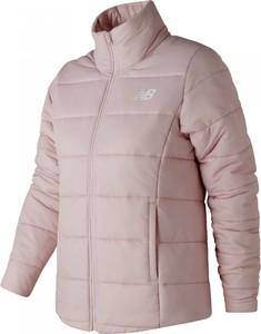 Różowa kurtka New Balance krótka