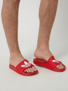 Czerwone buty letnie męskie Adidas Originals