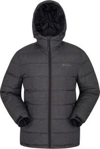 Czarna kurtka Mountain Warehouse z tkaniny