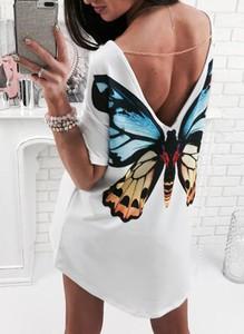 Sukienka Cikelly z długim rękawem w stylu casual mini