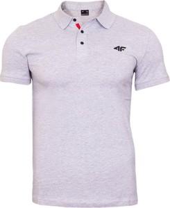 Koszulka polo 4F z bawełny z krótkim rękawem