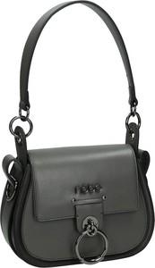 Czarna torebka NOBO z aplikacjami w stylu casual