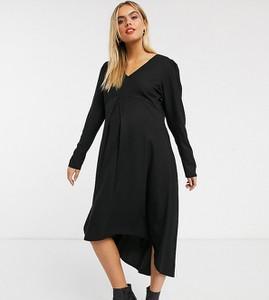 Czarna sukienka Mama Licious