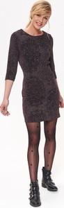 Sukienka Top Secret mini z dzianiny w stylu casual
