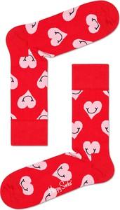Czerwone skarpetki Happy Socks