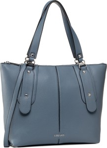 Niebieska torebka Liu-Jo matowa na ramię duża