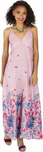 Sukienka Aller Simplement na ramiączkach