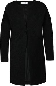 Czarny płaszcz Fokus