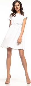 Sukienka Tessita z okrągłym dekoltem z krótkim rękawem mini