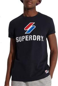 T-shirt Superdry z krótkim rękawem w sportowym stylu