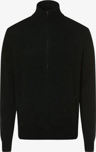 Zielony sweter Andrew James w stylu casual z wełny