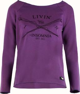 Bluzka By Insomnia w stylu casual z długim rękawem