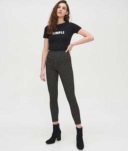 Czarne legginsy Cropp