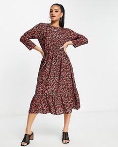 Czerwona sukienka I Saw It First midi