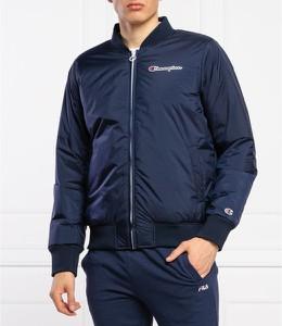 Niebieska kurtka Champion w sportowym stylu
