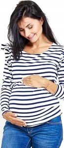Bluzka Happymum w stylu klasycznym z bawełny