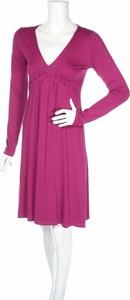 Sukienka Ellen Eisemann z długim rękawem z dekoltem w kształcie litery v