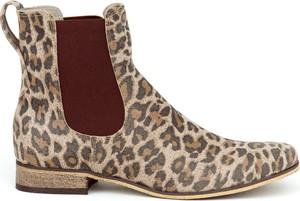 Botki Zapato ze skóry w stylu casual
