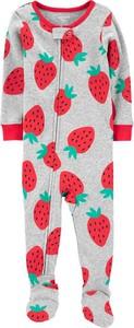 Carter's Pajac piżama truskawki