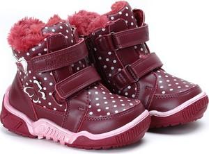 Buty dziecięce zimowe Royalfashion.pl na rzepy dla dziewczynek