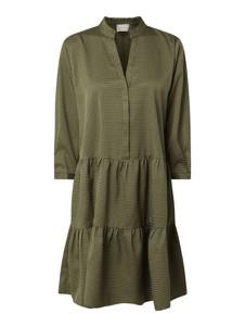Zielona sukienka Neo Noir koszulowa mini