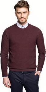 Bordowy sweter recman