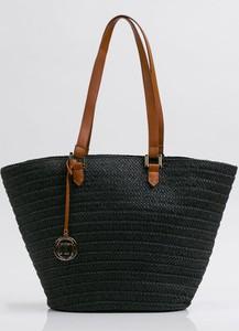 451d2208df418 torebka damska duża czarna - stylowo i modnie z Allani