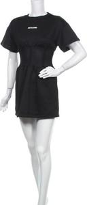 Sukienka Sixth June mini z krótkim rękawem z okrągłym dekoltem