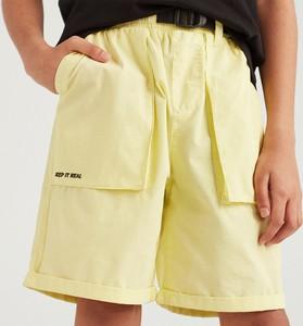 Żółte spodenki dziecięce Reserved