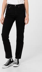 Czarne jeansy Levis z bawełny w stylu casual