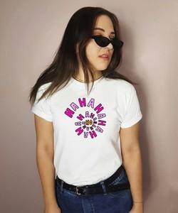 Bluzka Time For Fashion w młodzieżowym stylu z bawełny z nadrukiem