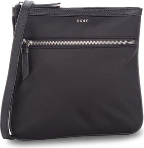 955650432f445 Granatowa torebka DKNY w młodzieżowym stylu