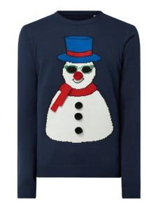Sweter Only & Sons w bożonarodzeniowy wzór