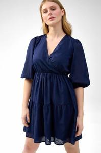 Sukienka ORSAY z tkaniny z długim rękawem
