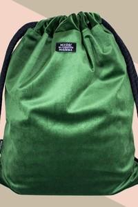 Zielony plecak Sacky.bag z tkaniny