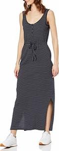Sukienka amazon.de na ramiączkach maxi z okrągłym dekoltem