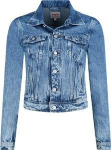 Niebieska kurtka Pepe Jeans w stylu casual